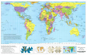 Double Map Hobo Dyer Placemat Folded Map New Internationalist Fair Trade Shop