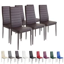 Esszimmerstuhl Braun Esszimmerstühle Milano Farbe Und Stückzahl Wählbar Stühle