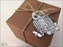my owl barn harry potter treat box and gift tags