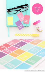 printable planner diary our pretty blog decorate your diary free printable free