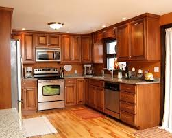 83 most sensational popular kitchen colors with brown cabinets