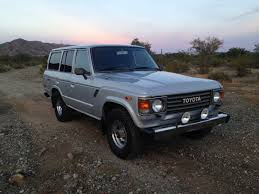 original land cruiser 1986 toyota landcruiser fj60 143k low miles original stock