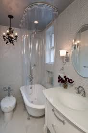 Clawfoot Tub Shower Curtain Rod You Can Make Yourself Rub A Dub Dub Shower Curtains For Clawfoot Tubs Curtain Tracks