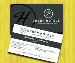urban hotel business card free psd business card templates