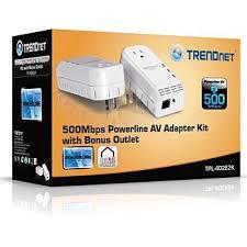 tpl 401e2k trendnet tpl 401e2k מתאם למחשב שולחני רשתות על תשתית רשת החשמל