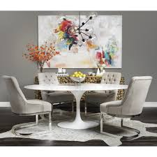 echo dining table white marble dining tables dining furniture