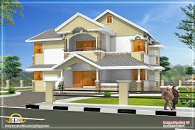 luxury villa floor plans april 2012 kerala home design and floor plans renew sloped roof