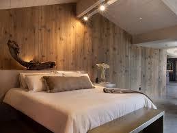 chambre en bois chambre mur bois
