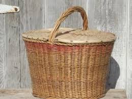vintage picnic basket antique vintage baskets wicker picnic baskets wire baskets