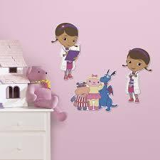 RoomMates Doc McStuffins Foam Characters Home Home Decor