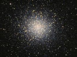 Photograph M   is a globular cluster in the constellation Hercules  Kids Britannica