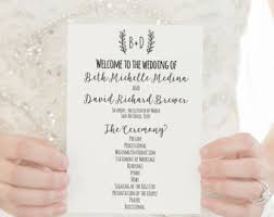 where to get wedding programs printed wedding programs printed programs wedding ceremony programs