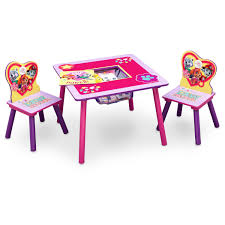 Kidkraft Outdoor Table And Chair Set Nick Jr Paw Patrol Skye And Everest Table And Chair Set With