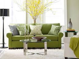 interior classy green living room decoration ideas using light