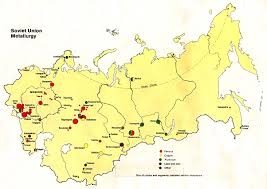 Map Of Ussr Russia Ex Soviet Heartland Maps