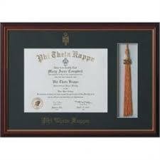 tassel frame embossed certificate and tassel frame