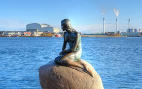 mermaid statue copenhagen denmark mermaids earth