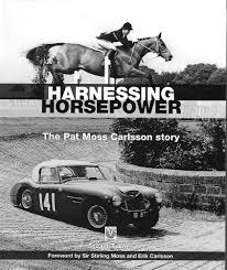 biographical book about rally driver pat moss