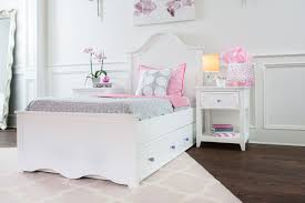 girls white storage bed high quality hardwood bedroom furniture for teens u0026 youth craft