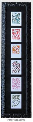 framed greeting cards papercut one of my clients framed these