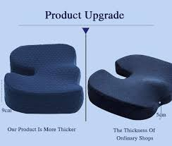Desk Chair Seat Cushion by Best Office Chair Cushion For Sciatica Lower Back Coccyx Pain