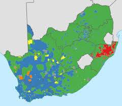 africa map 2014 south africa election map 2014