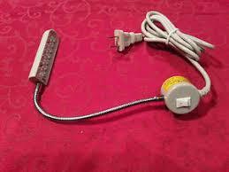 led gooseneck machine light 20 led gooseneck light l for industrial sewing machines singer