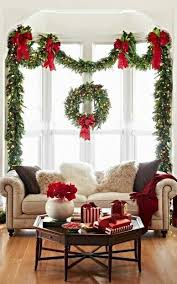 Decoration For Window Elegant Christmas Decorations For This 2017 Garlands Window And