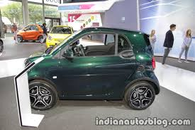 2018 smart fortwo side at iaa 2017 indian autos blog