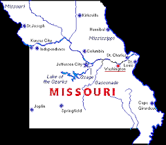 missouri map cities major missouri cities and their geographical relationship to