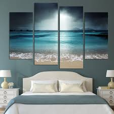 4 panel modern wall art home decoration painting canvas wall art