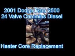 dodge ram heater replacement heater replacement 2001 dodge ram 2500 cummins diesel