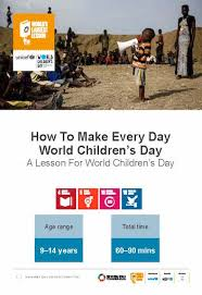 world children s day is on the 20th november the worlds largest