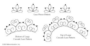 cake decorating tracing patterns patterns kid