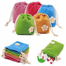 purse gift bags mini candy colors velvet drawstring jewelry wedding gift bags