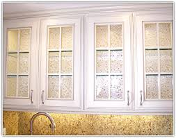 Cute Glass Panels Kitchen Cabinet Doors With Inserts On Throughout