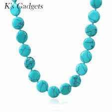 blue stones necklace images Buy blue stone chocker necklace round handmade jpg