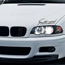 bmw e46 modified car styling front grille three color modified reflective car