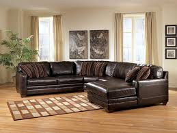 Brown Leather Sofa Living Room Ideas Sofa Path Included Ashley Furniture Leather Sofa Frightening