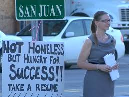 handing in a resume in person woman hands out resumes on buffalo street gets job offers