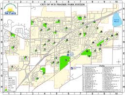 parks map sun prairie parks forestry department sun prairie wi