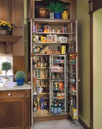 classy free standing kitchen storage solutions wonderful interior