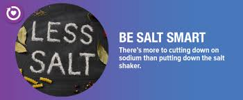 shaking the salt habit to lower high blood pressure