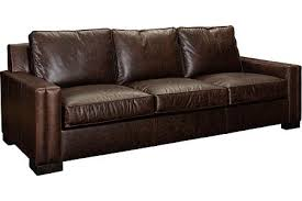 Leather Sofa Sleeper Queen by Rocco Leather Sofa Sleeper Queen From The Rocco Collection By