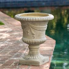 selling home interior products ferrara antique green stone planter the ferrara antique green