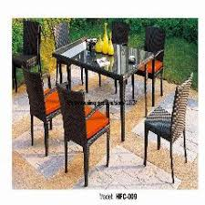 Outdoor Rattan Armchairs Luxury Round Rattan Garden Furniture Glass Table Full Rattan Chair