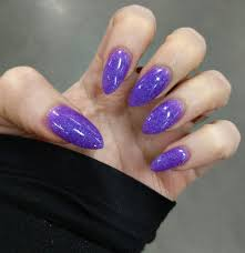 anc dip over natural nails color is 125 sparkling violet yelp