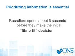 Resume 6 Seconds Resume Writing Workshop Creating A Winning Resume Ppt Video