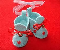 baby bootie ornament best 25 felt booties ideas on felt baby shoes doll