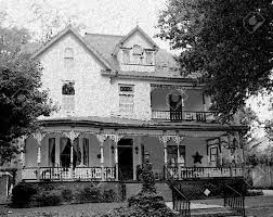 old fashioned house old fashioned house with a wraparound porch pencil sketch royalty